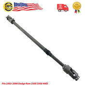 4wd Lower Steering Shaft Fits 2003-2008 Dodge Ram 2500 And 3500 Cab Pickup 000951