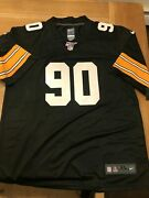 🔥🔥🔥ship From Usa Pittsburgh Steelers T. J. Watt Black Color Sittched Jersey
