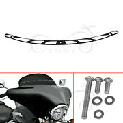Us Windshield Trim For Harley Touring Tri Street Glide Special Flhxs Flhx 14-21