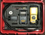 Uei C125 Eagle Combustion Analyzer Kit Working With Last Service And Cal. Record