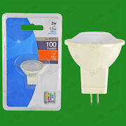 25x 2w Led Ultra Low Energy, Instant On, Pearl Mr11 Long Life Light Bulb