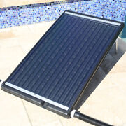 Flat Panel Solar Heater Pool For In-ground Or Above Swimming Pool Adjustable Leg