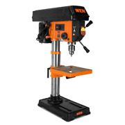 Drill Press Laser 10 In. Cast Iron Base 1/2 In. Keyed Chuck