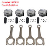 Pistons And Connecting Rods Kit 23 Mm For Audi A4 1.8t Cdha Cdhb Vw Passat Cdaa