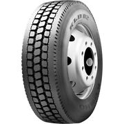 4 Tires Kumho Kld02 285/75r24.5 Load G 14 Ply Drive Commercial