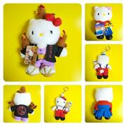 Sanrio Hello Kitty Collectible Plush Set Of 3 From Japan Free Shipping