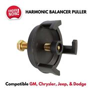 Harmonic Balancer Puller Kit Removal Tool For Gm Chevy Jeep Dodge Engines Repair