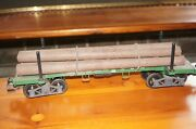 Urf33] Lgb G Scale 4066 Long Wood Cart With Load Without Original Box