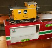 Rfb ] Lgb G Scale 43650 Caboose Car Colorado And Southern Cands 1003 Boxed