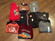 Nwt Toddler Boyssize 410 Pc. Clothes Lotfall / Wintercarter's,jumping Beans
