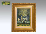 Hiroshi Nakane Oil Painting Tyrol F4 With Sign Framed Paintings Document Art