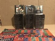 72 Talking Classics Cds - Large Audio Book Collection