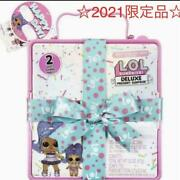 Tomy Lol Surprise Winter Disco Omg Deluxe Present Doll And Lil Sister
