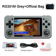 Anbernic Rg351m Retro Video Game Console 2500 Games Handheld Game Player