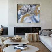 Ren Wil Winter Storm Framed Canvas Art N/a Abstract Geometric Oversized