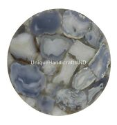 Agate Top Dining Center Table Handmade Art Restaurant Table Top Christmas Gifts