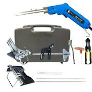 Electric Hot Knife Kits 150w Hand Hold Banner Heating Cutter Rope Foam Blades