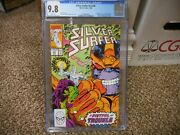 Silver Surfer 44 Cgc 9.8 1st Appearance Infinity Gauntlet V3 Marvel 1990 Thanos