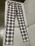 Cheap Monday Tight Check Skinny Underpants Size S