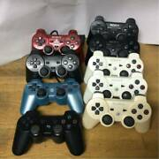 Ps Ps2 Ps3 Controller Total 19 Pieces Junk Playstation Dual Shock Screwcon