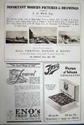 Antique Old Print Advertisement 1922 Vichy Water Drink Cars Frys Christie 20th