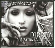 Christina Aguilera Dirrty 4trx Edit And Unrelease And Video Cd Single Sealed Dirty