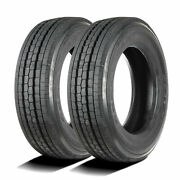 2 Tires Goodyear G647 Rss 245/70r19.5 Load G 14 Ply All Position Commercial