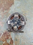 Vintage Unbranded Skeleton Style Fly Fishing Reel Made In Usa