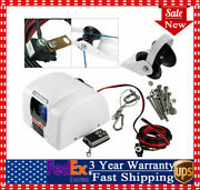Boat Electric Windlass Anchor Winch Marine Saltwater With Wireless Remote 45 Lbs