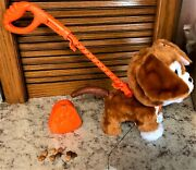 Furreal Poopalots Big Wags Interactive Pet Toy With Connectible Leash