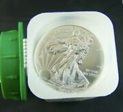 2014 American Silver Eagle Mint Roll Of 20 Coins From Monster Box Uncirculated