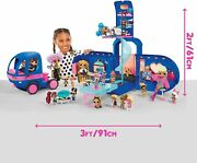 New Fast Ship Lol Surprise 4-in-1 Glamper Fashion Camper - With 55+ Surprises