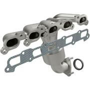 Catalytic Converter With Integrated Exhaust Manifold For 2007-2008 Isuzu I-370