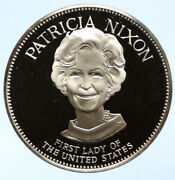 1972 Fm Us Usa White House First Lady Patricia Nixon Proof Silver Medal I95814