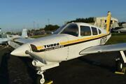 1977 Piper Pa-28-201t Turbo Arrow Iii Low Time Nice Interior Project