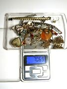 Lot Of Gold Filled Scrap And Junk Jewelry 70.69 Grams