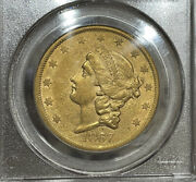 1867-s Pcgs Xf45 20 Gold Liberty Double Eagle Great Eye Appeal