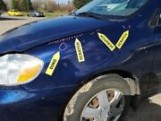 Driver Left Fender Without Ground Effects Fits 03-08 Corolla 233812