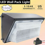 Dusk To Dawn Commercial Led Wall Pack Light Fixture 150w Outdoor Area Security
