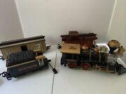 New Bright Gold Rush Express G-scale Train Set 186 Fast Shipping