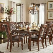 Emma Catherine Cherry Extending Dining Set By Inspire Q