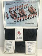 Vintage August Traditional Toy Soldier On Parade Metal Mold Kit 800 Htf