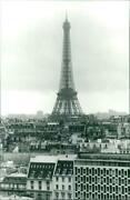 Eiffel Tower High Above Roots Paris You Can See Eif - Vintage Photograph 3750208