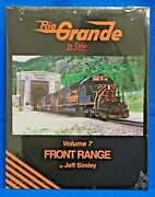 Morning Sun Books 1732 - Rio Grande In Color Vol. 7 Front Range - Hc - 128 Pages