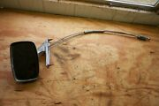 1969 Ford Car Left Drivers Side Outside Door Mirror Remote Cables C9ab-17743-aandnbsp
