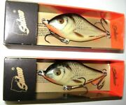 2 Salmo Slider Lures Real Grey Shiner Color Floating Sd7f Rgs Discontinued