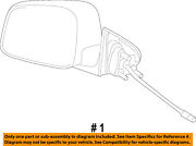 Jeep Chrysler Oem Outside Mirrors-front Door-power Mirror Left 5sg34ht6ab