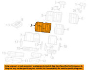 Ram Chrysler Oem 13-14 3500 Rear Seat-seat Cover-top Back Right 5nb08lt5aa