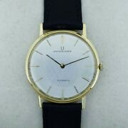 Universal Genandegraveve Extra Thin 1 11/32in Ref 166101 Vintage 18k Gold