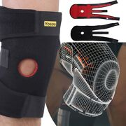Knee Brace Support Patella Kneecap Stabilizer Strap Band Relief Sport Joint Pain